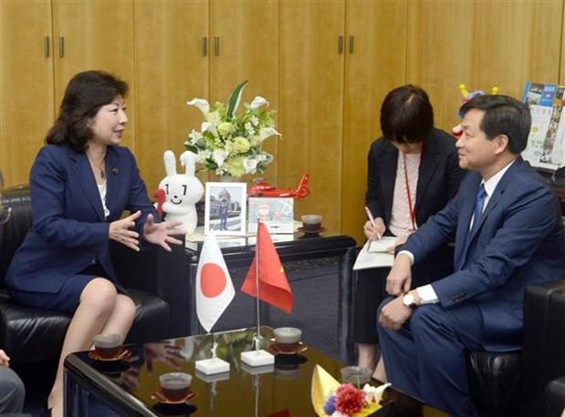 L'inspecteur general du gouvernement vietnamien au Japon hinh anh 1