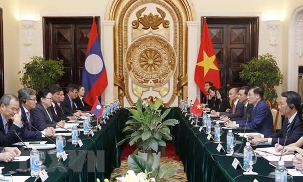 Vietnam-Laos : la 3e consultation politique entre les deux ministeres des AE a Hanoi hinh anh 1