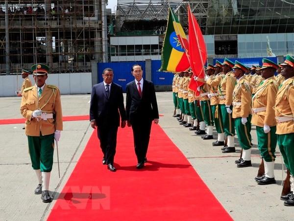 Declaration commune Vietnam-Ethiopie hinh anh 1