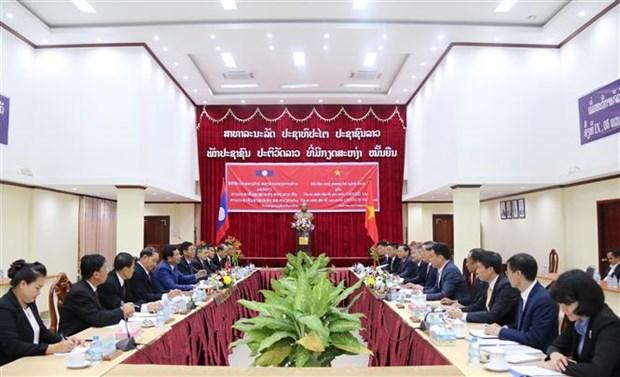 Vietnam-Laos : Cooperation efficace entre les systemes de cours hinh anh 1