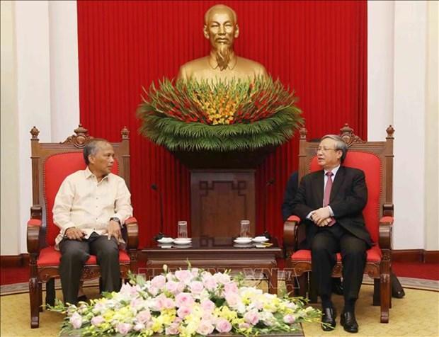 Mer Orientale: le Vietnam et les Philippines perseverent sur la voie pacifique hinh anh 1