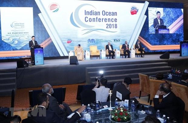Cloture de la troisieme conference sur l'ocean Indien hinh anh 1