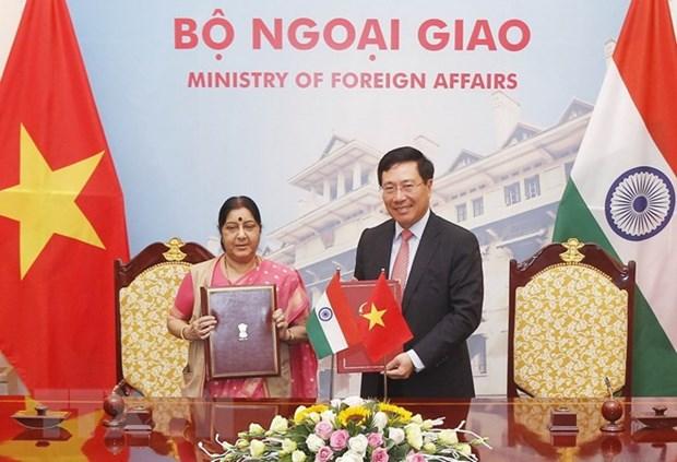 Reunion du Comite mixte Vietnam-Inde hinh anh 1