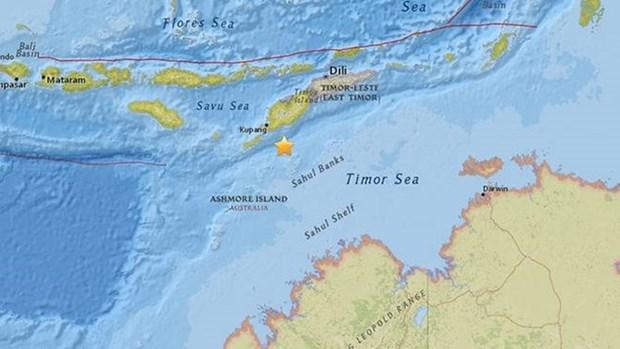 Un seisme de magnitude 6,2 secoue l'est de l'Indonesie hinh anh 1