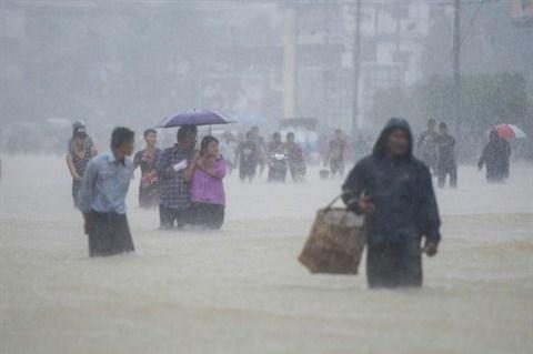 Myanmar : graves inondations suite a la rupture d'un barrage hinh anh 1