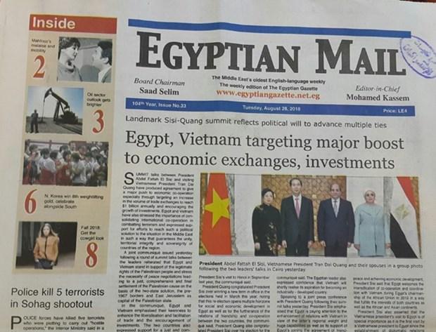 L'Egypte souhaite developper ses relations avec le Vietnam hinh anh 1