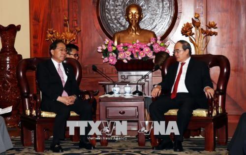 Resserrement des relations de cooperation entre HCM-Ville et le Japon hinh anh 1