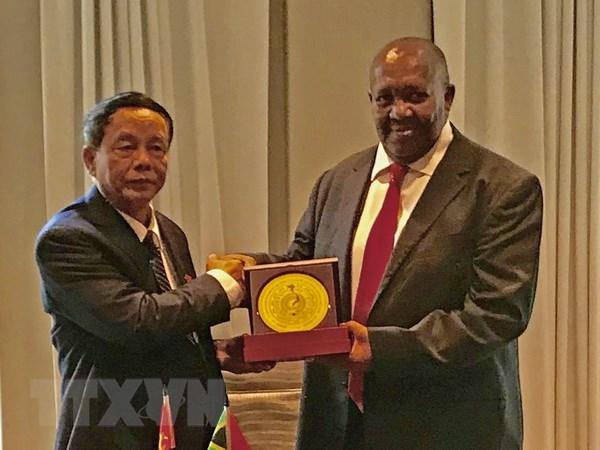 Une delegation de l'Assemblee nationale du Vietnam en visite en Afrique du Sud hinh anh 1