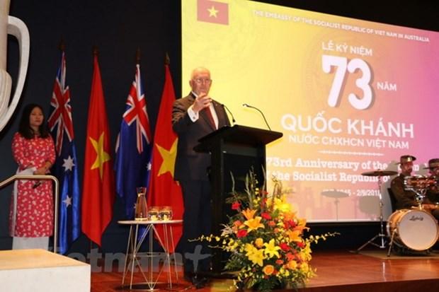La Fete nationale celebree en Australie, au Japon et au Laos hinh anh 1