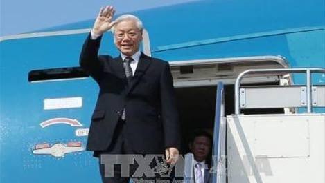 Le secretaire general du PCV Nguyen Phu Trong attendu en Russie hinh anh 1