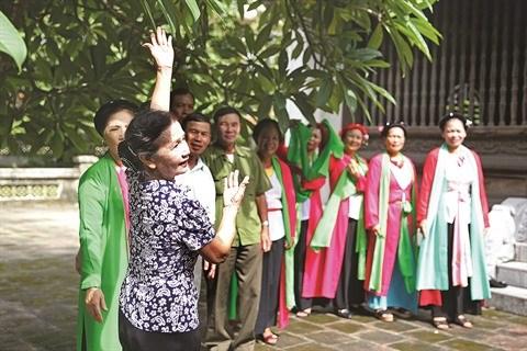 Quang Ninh : Dong Trieu, berceau du theatre populaire cheo hinh anh 2