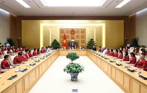 ASIAD 2018 : Le PM felicite des resultats de la delegation vietnamienne hinh anh 1