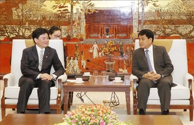 Le Japon est pret a travailler avec Hanoi sur le traitement de la pollution hinh anh 1