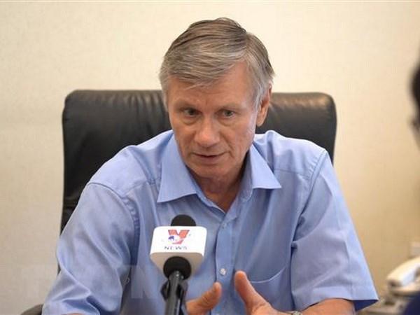 La visite du leader du PCV en Russie vise a promouvoir les relations bilaterales hinh anh 1