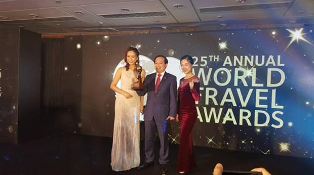 Le Vietnam obtient des prix mondiaux du tourisme 2018 hinh anh 1