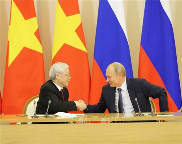 Le partenariat Vietnam-Russie n'a cesse d'etre consolide et developpe hinh anh 1