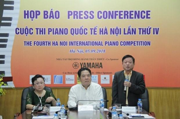 Des pianistes de 10 a 25 ans reunis a Hanoi pour un concours international hinh anh 1