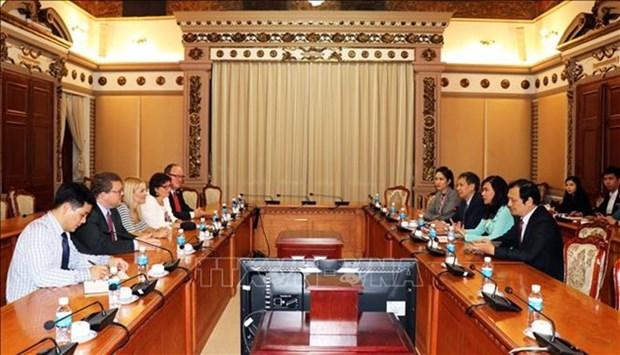 Ho Chi Minh-Ville et l'Etat de Hesse boostent leur cooperation educationnelle hinh anh 1