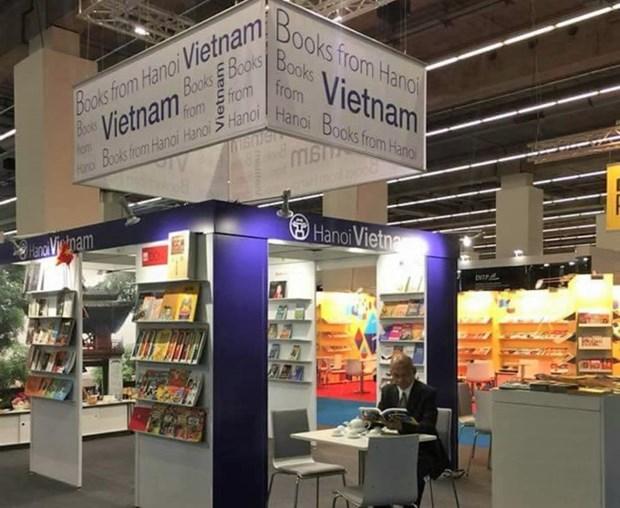 Hanoi a la Foire internationale du livre de Frankfort 2018 hinh anh 1