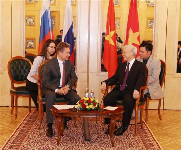 """Le Vietnam ''creera les meilleures conditions pour les entreprises russes"""" hinh anh 1"""
