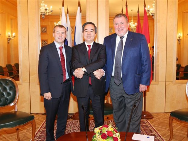 "La Russie, ''priorite absolue"" de la politique etrangere du Vietnam hinh anh 2"
