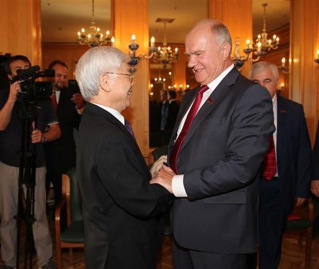 "La Russie, ''priorite absolue"" de la politique etrangere du Vietnam hinh anh 1"