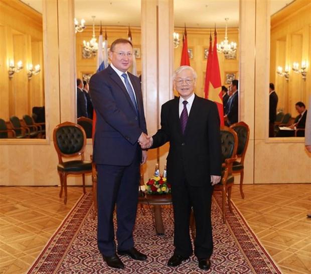 """Le Vietnam ''creera les meilleures conditions pour les entreprises russes"""" hinh anh 2"""
