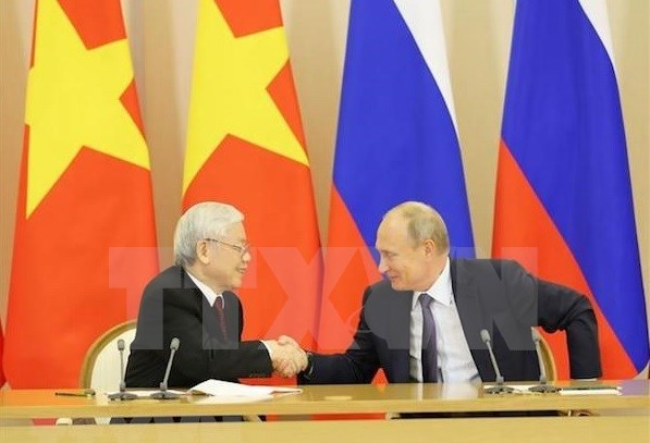 Le leader du PCV remercie le president russe, quitte Moscou pour Budapest hinh anh 1