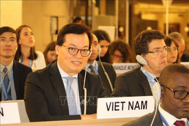 Le Conseil des droits de l'homme de l'ONU ouvre sa 39e session hinh anh 2