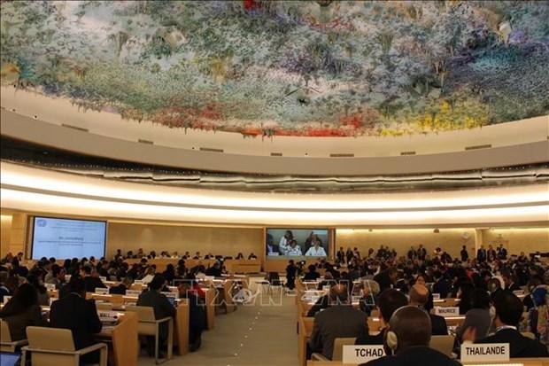 Le Conseil des droits de l'homme de l'ONU ouvre sa 39e session hinh anh 1