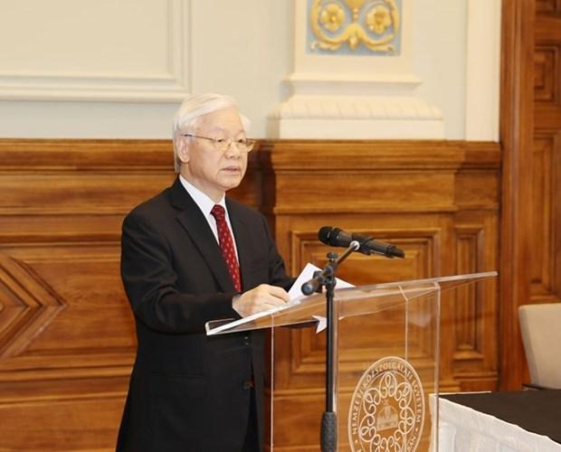 Le leader du PCV a la 2e Conference des recteurs des Universites Vietnam – Hongrie hinh anh 1