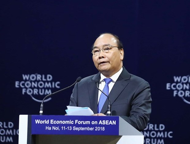 FEM ASEAN 2018: Ouverture du Forum economique mondial sur l'ASEAN 2018 hinh anh 1