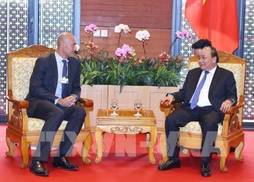 Le Vietnam est un marche potentiel pour Google, selon le PM hinh anh 1