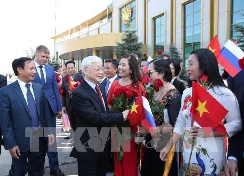 Nouvel horizon pour la cooperation Vietnam-Russie hinh anh 1