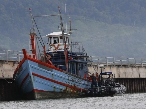 Des pecheurs indonesiens enleves au large de la Malaisie hinh anh 1