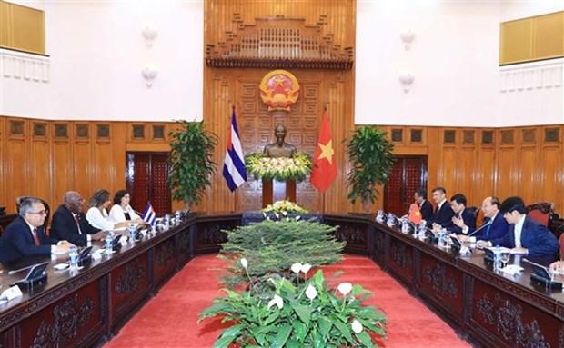 Le Vietnam cherit toujours ses liens avec Cuba, affirme le Premier ministre Nguyen Xuan Phuc hinh anh 1