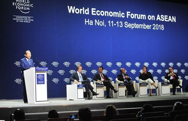 Le WEF ASEAN 2018 est couronne de succes hinh anh 1