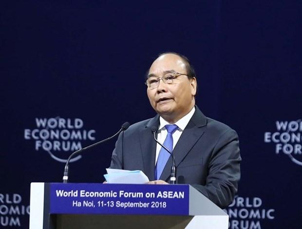 Libre-echange, ASEAN, economie numerique: Le PM depeint sa vision hinh anh 1
