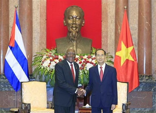 Le Vietnam resolu a continuer de renforcer la solidarite avec Cuba hinh anh 1