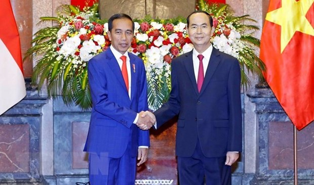 Le Vietnam et l'Indonesie publient une declaration commune hinh anh 1