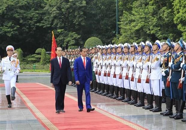 Le president Joko Widodo au Vietnam : la presse indonesienne en parle hinh anh 1