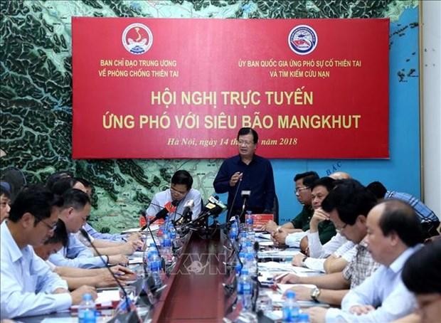 Le Vietnam se prepare a l'arrivee du typhon Mangkhut hinh anh 1