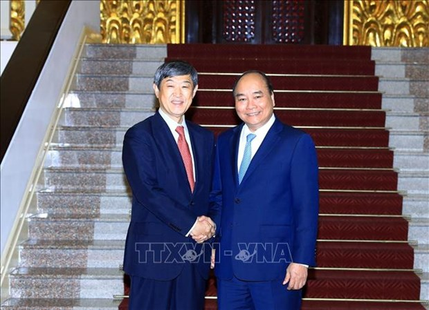 Le PM salue les contributions de la JICA au developpement Vietnam-Japon hinh anh 1