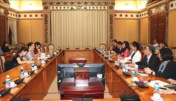 Ho Chi Minh-Ville s'engage a promouvoir l'egalite des sexes hinh anh 1