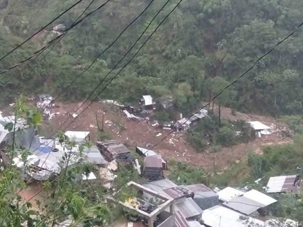 Au moins 30 morts dans un glissement de terrain aux Philippines hinh anh 1