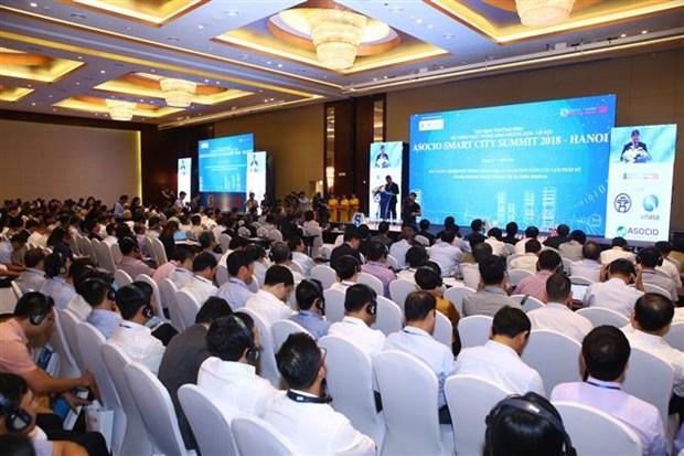 Le Sommet des villes intelligentes preconise des solutions numeriques hinh anh 1