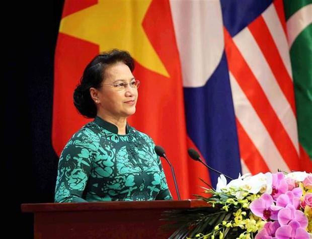 ASOSAI 14: Le Vietnam elargira l'espace des affaires et promouvra les potentialites des entreprises hinh anh 2