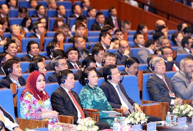 ASOSAI 14: Le Vietnam elargira l'espace des affaires et promouvra les potentialites des entreprises hinh anh 1