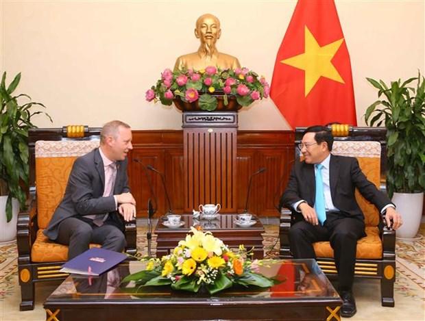 Le Vietnam souhaite renforcer ses relations avec le Royaume-Uni hinh anh 1