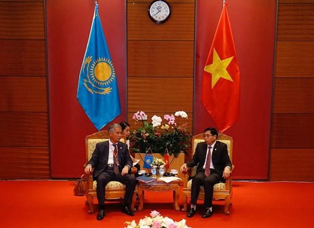 Audit: le Vietnam et le Kazakhstan veulent booster leurs liens hinh anh 1